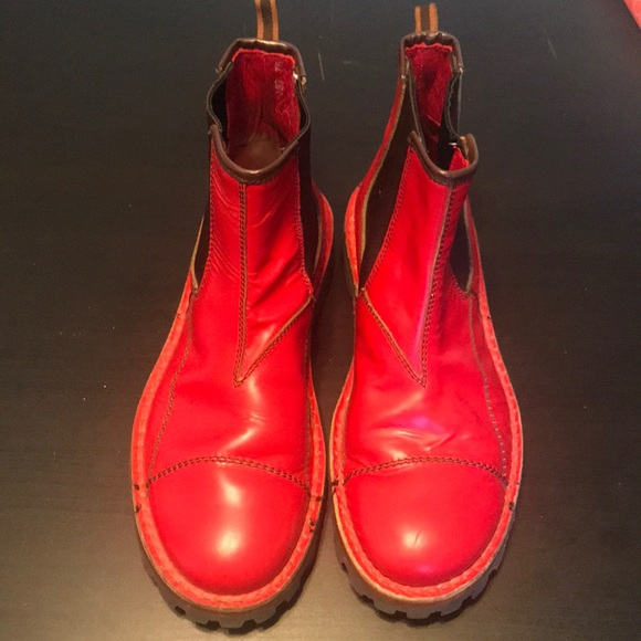 Miu Miu Other - Miu Miu red men's boots